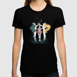 Crescent Moon Goddess Coven T-shirt