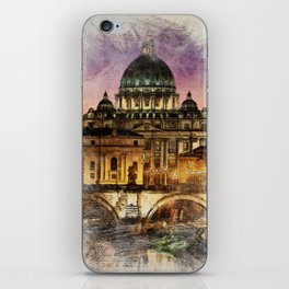 The City of Rome iPhone Skin