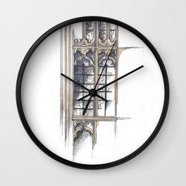 Bath Church Windows Wall Clock