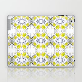 Pattern 43 - Maple Leaf and Branches pattern Laptop & iPad Skin