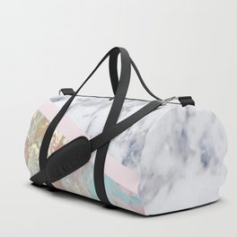 Whimsical marble fantasy Duffle Bag