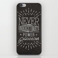 PASSION TYPOGRAPHY iPhone & iPod Skin