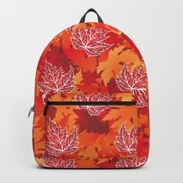 Maple Leaf Backpack