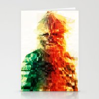 chewbacca Stationery Cards featuring Chewbacca by Tom Johnson