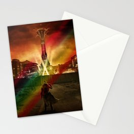 Fallout Video game characters Stationery Cards