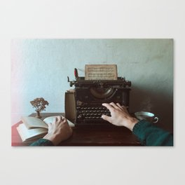 Old Memories Canvas Print