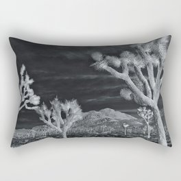 Joshua Tree InfraRed by CREYES Rectangular Pillow