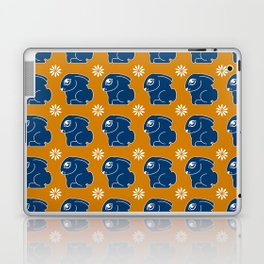 Funny pattern with bunnies Laptop & iPad Skin