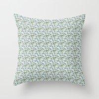 jasmine Throw Pillows featuring jasmine by Mayacoa