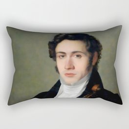 Portait of young Niccolò Paganini Rectangular Pillow