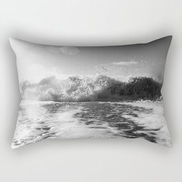 Exploding Breaking Wave Rectangular Pillow