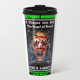 """""""The Angel of Death"""" book cover art with signature Travel Mug"""