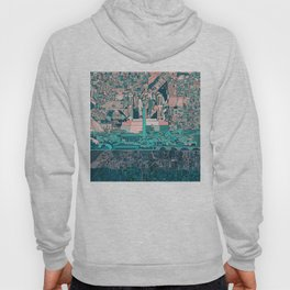 washington dc city skyline Hoody