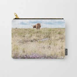 Highland Coo V Carry-All Pouch