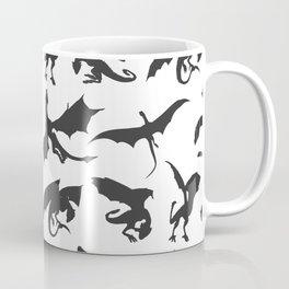 DRAGON SILHOUETTE Coffee Mug