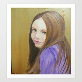 pre teen Art Print