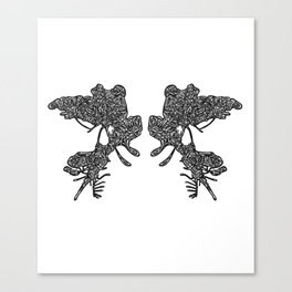 Rosarch Canvas Print