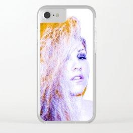 EM Clear iPhone Case