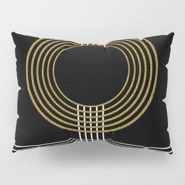 GUITAR IN ABSTRACT (geometric art deco) Pillow Sham