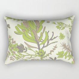 Cream Cradle Flora Rectangular Pillow