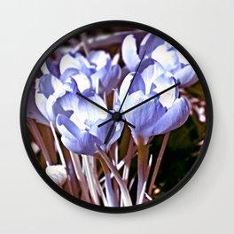 Crocus Infrared Wall Clock