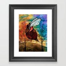 Heartbug Framed Art Print