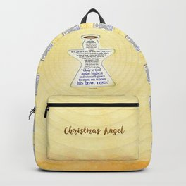 Christmas Angel Backpack