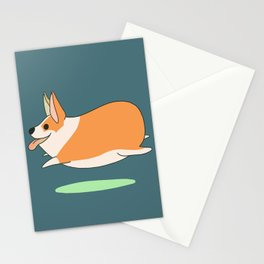 Corgi Bean Stationery Cards