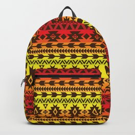 bright ethnic ornament Backpack