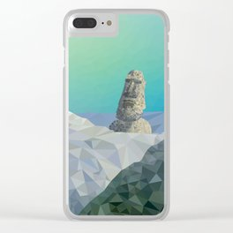 This is Not Easter Island Clear iPhone Case