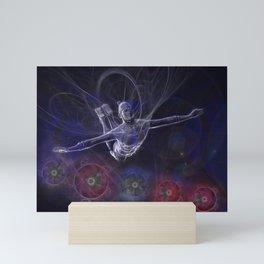 Galactic Acrobat Mini Art Print