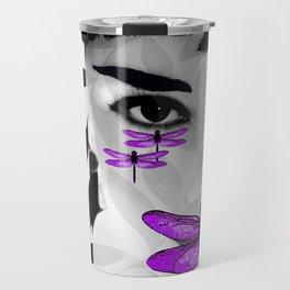 DRAGONFLY WOMAN Travel Mug