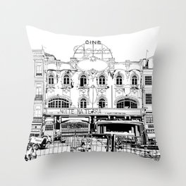 porto III Throw Pillow