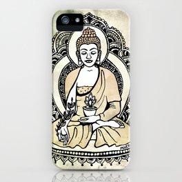 Buddha of Healing iPhone Case