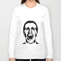 american psycho Long Sleeve T-shirts featuring American Psycho by ginaxcuzzilla