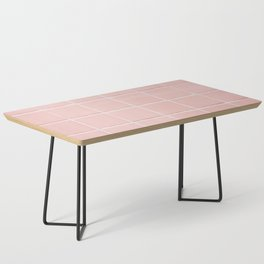 Pink Wall Coffee Table