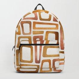 Mid Century Modern Metallics Backpack