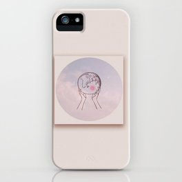 Glob in Hand iPhone Case