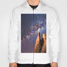 Night sky iii - galaxy Hoody