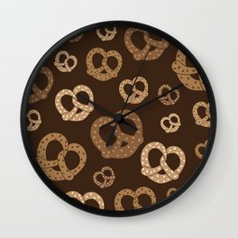 Pretzelicious Wall Clock