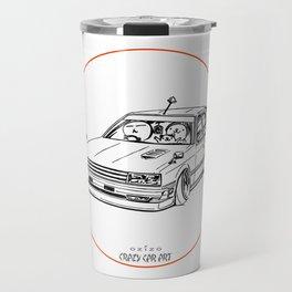 Crazy Car Art 0213 Travel Mug