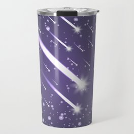 Flying meteors. Ultra violet. Travel Mug