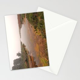 Misty Assateague Island Marsh Stationery Cards