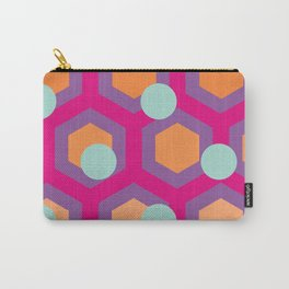 Honeycomb & Spots Carry-All Pouch