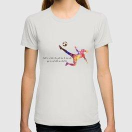 Doubt Is A Killer.  Quote Art Design Inspirationa T-shirt