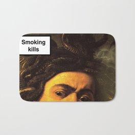 smoking kills Bath Mat