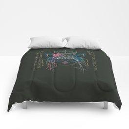 Dark Kitsune Comforters