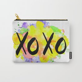 kisses and hugs watercolour Carry-All Pouch