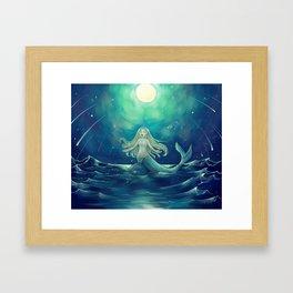 The Sea-Maid's Music Framed Art Print