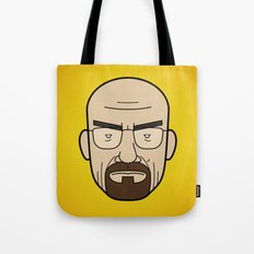 Faces of Breaking Bad: Walter White Tote Bag